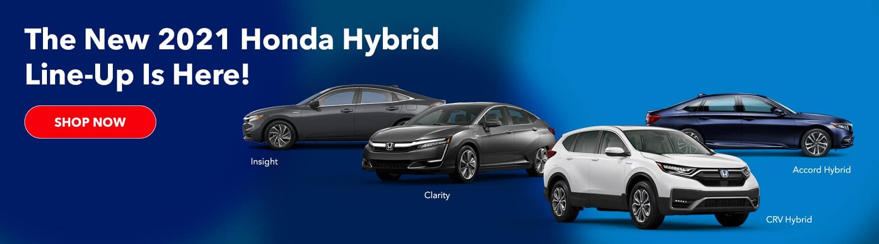 2021 Honda Hybrids