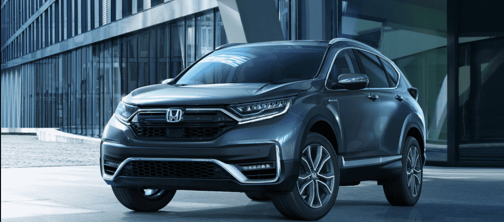 Blue-Gray 2021 Honda CR-V