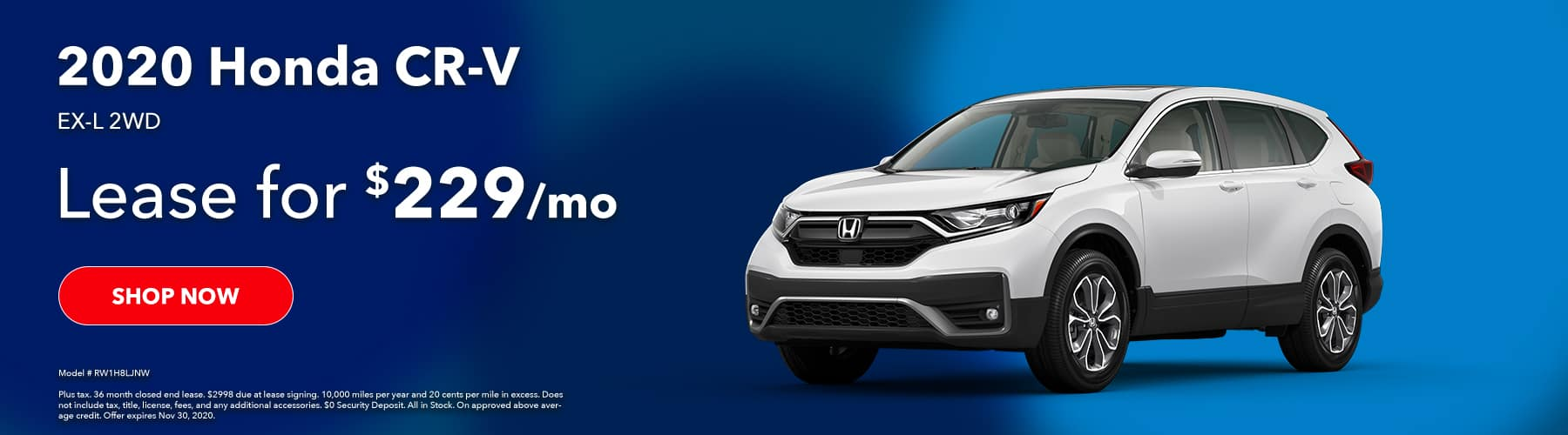 2020 Honda CRV EX-L