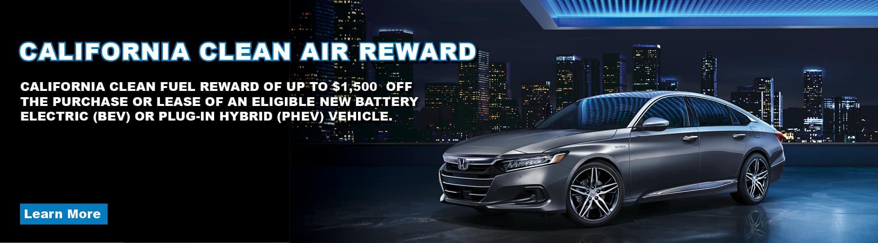 California Clean Fuel Rewards