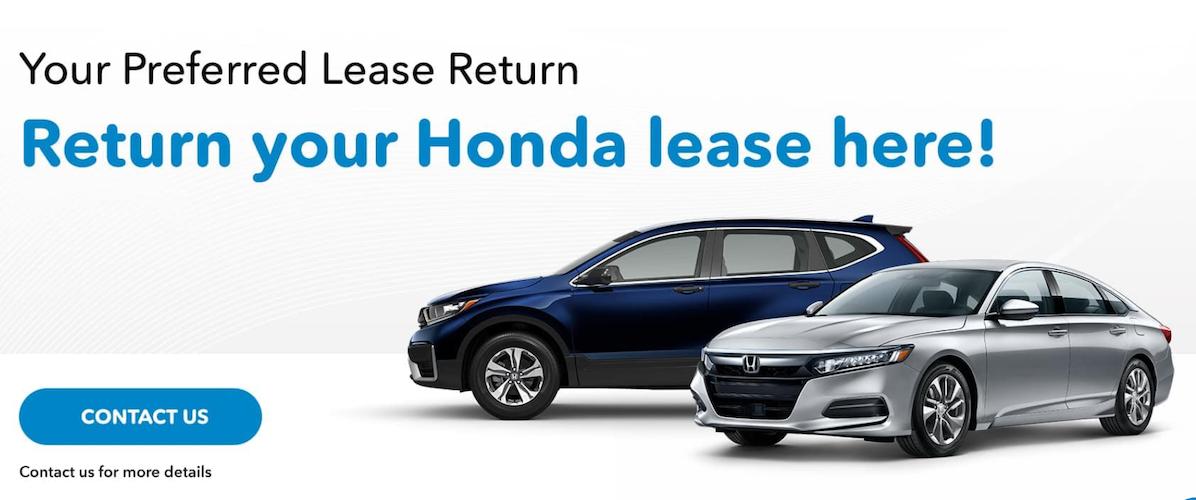 Return Your Honda Lease Here