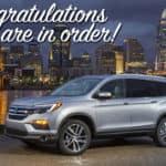 Honda Awarded Best SUV Brand