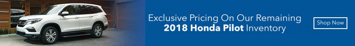 Exclusive Honda Pilot Pricing Banner