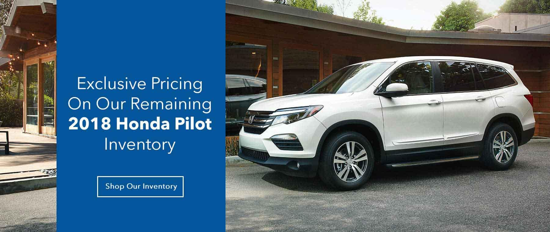Exclusive Honda Pilot Pricing Slide