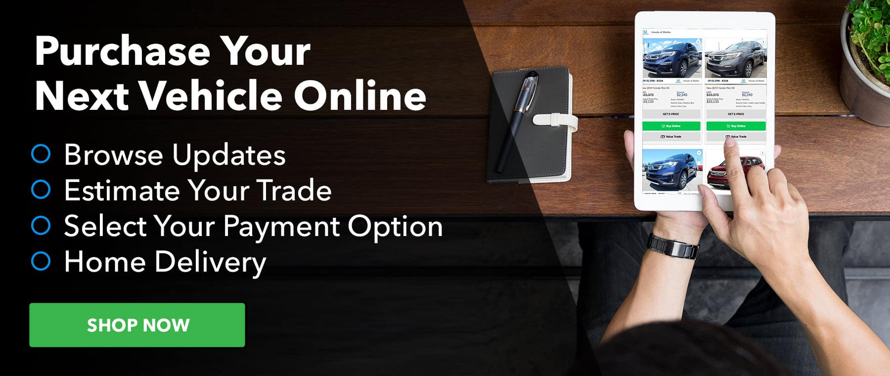 Buy Online at Honda of Olathe