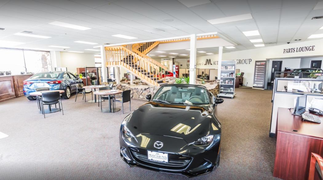Joe Machens Mazda Interior