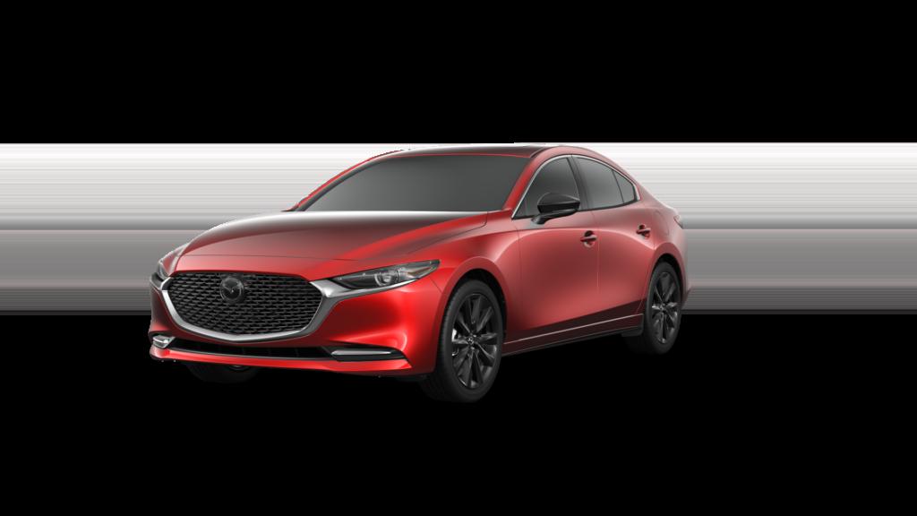 soul red crystal 2021 mazda3 turbo sedan