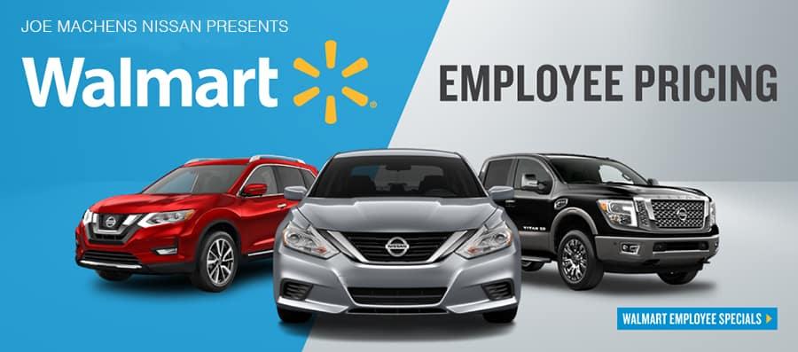 Wal-Mart Employee Pricing   Joe Machens Nissan