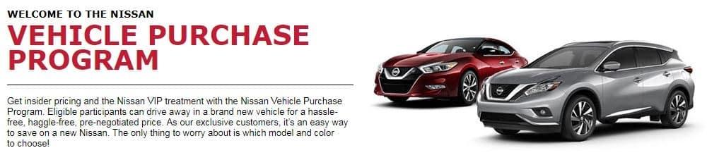 Vehicle Purchase Program   Joe Machens Nissan