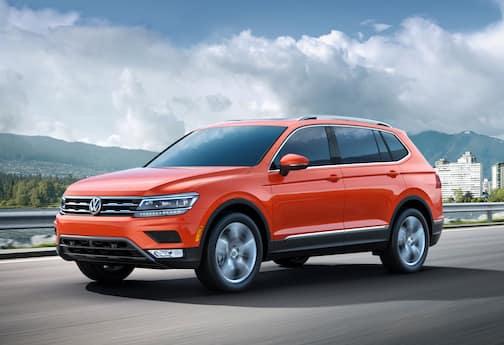 red 2018 Volkswagen Tiguan
