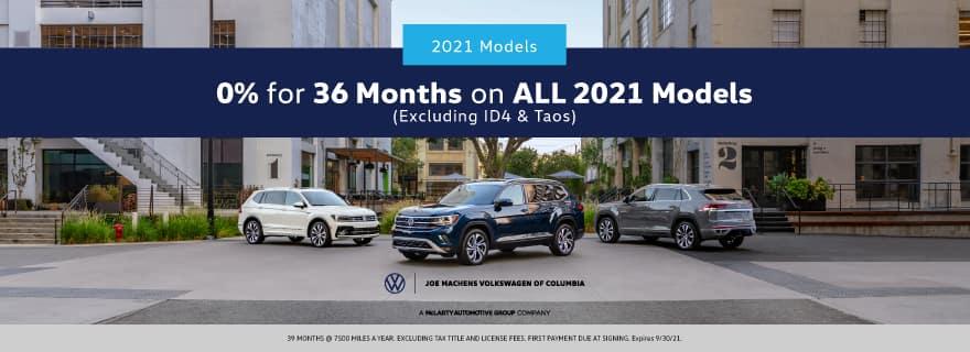 Joe Machens Volkswagen September Incentive - 0% for 30 Months