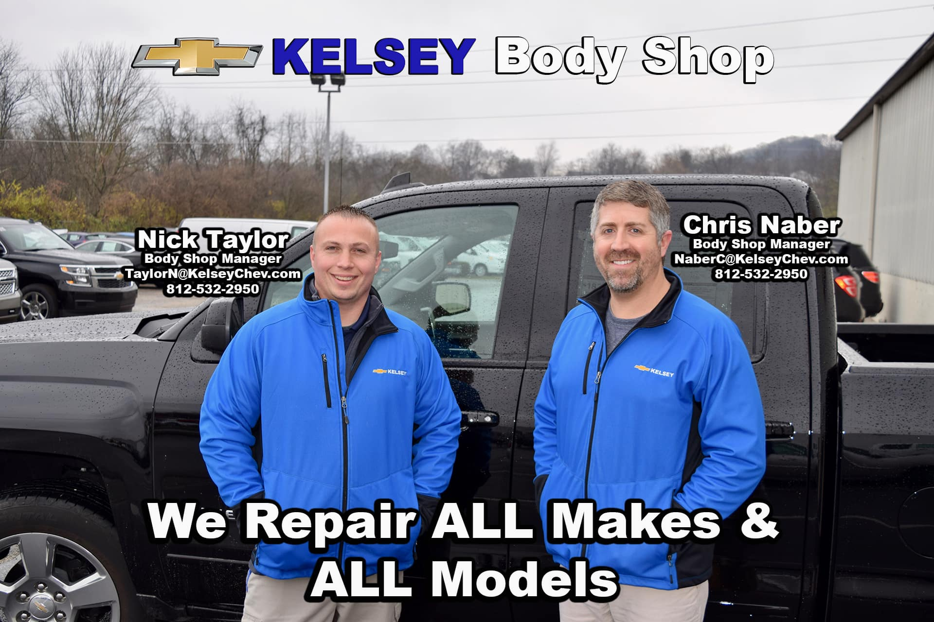 Kelsey Body Shop in Greendale, Indiana