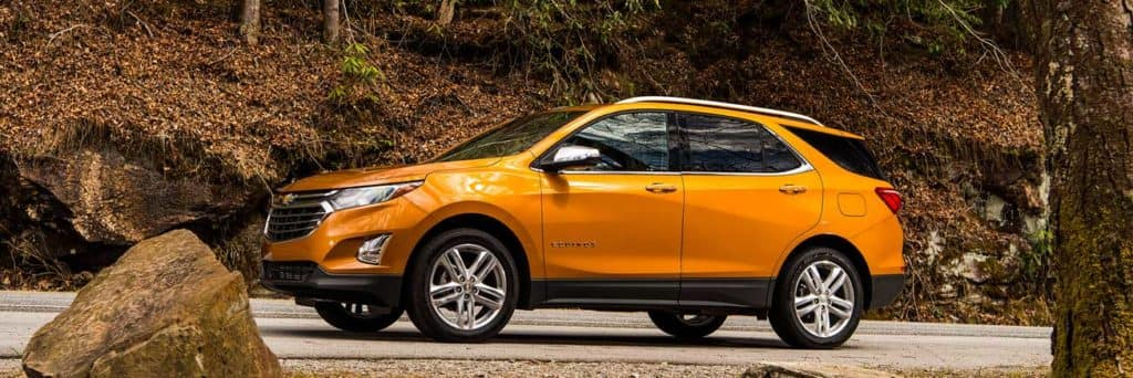 2019 Chevrolet Equinox Orange Burst Metallic