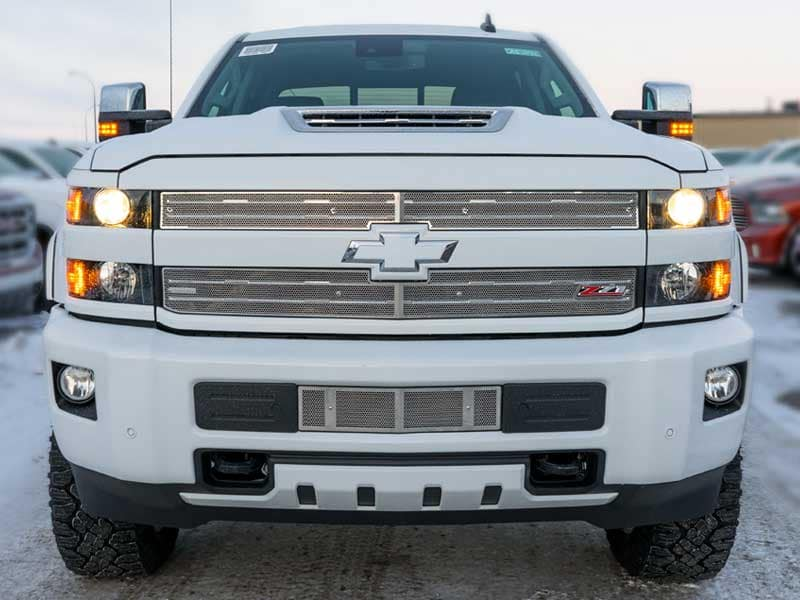 Chevrolet Silverado with T-Rex Grille Saskatchewan