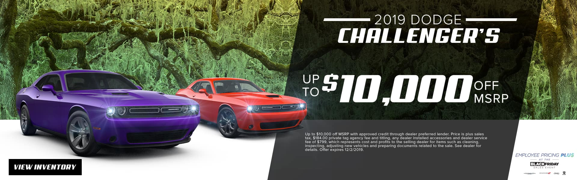 2019 Dodge Challengers | Up To $10,000 Off MSRP