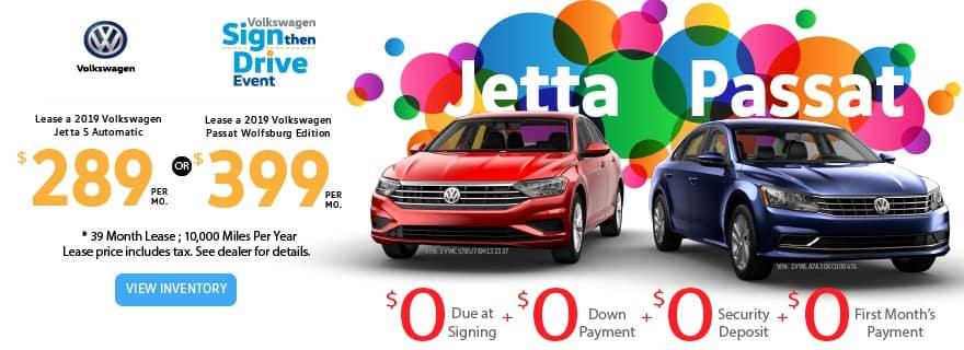 Passat/Jetta March Offer
