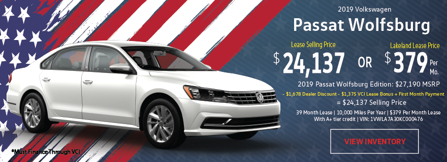 LakelandVW May Passat Offer_