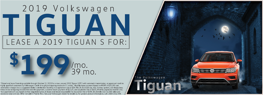 Oct Tiguan Offer