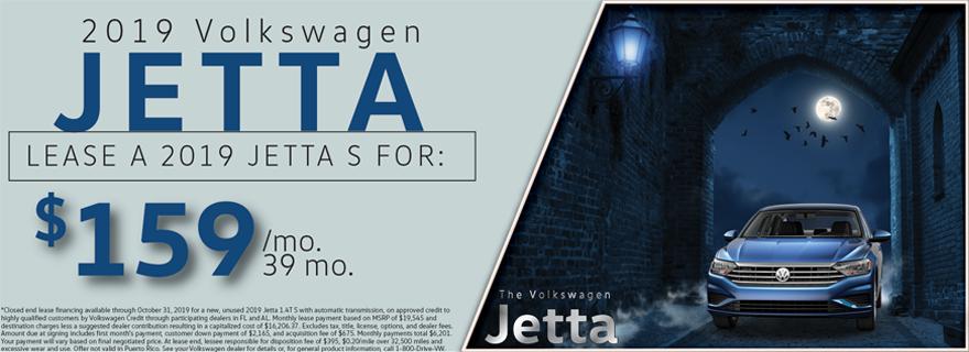Oct. Jetta Offer
