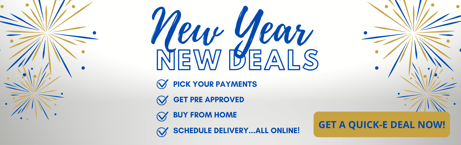 New year home page banner