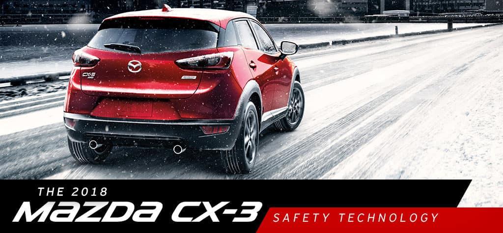 2018 Mazda CX-3 Safety Technology