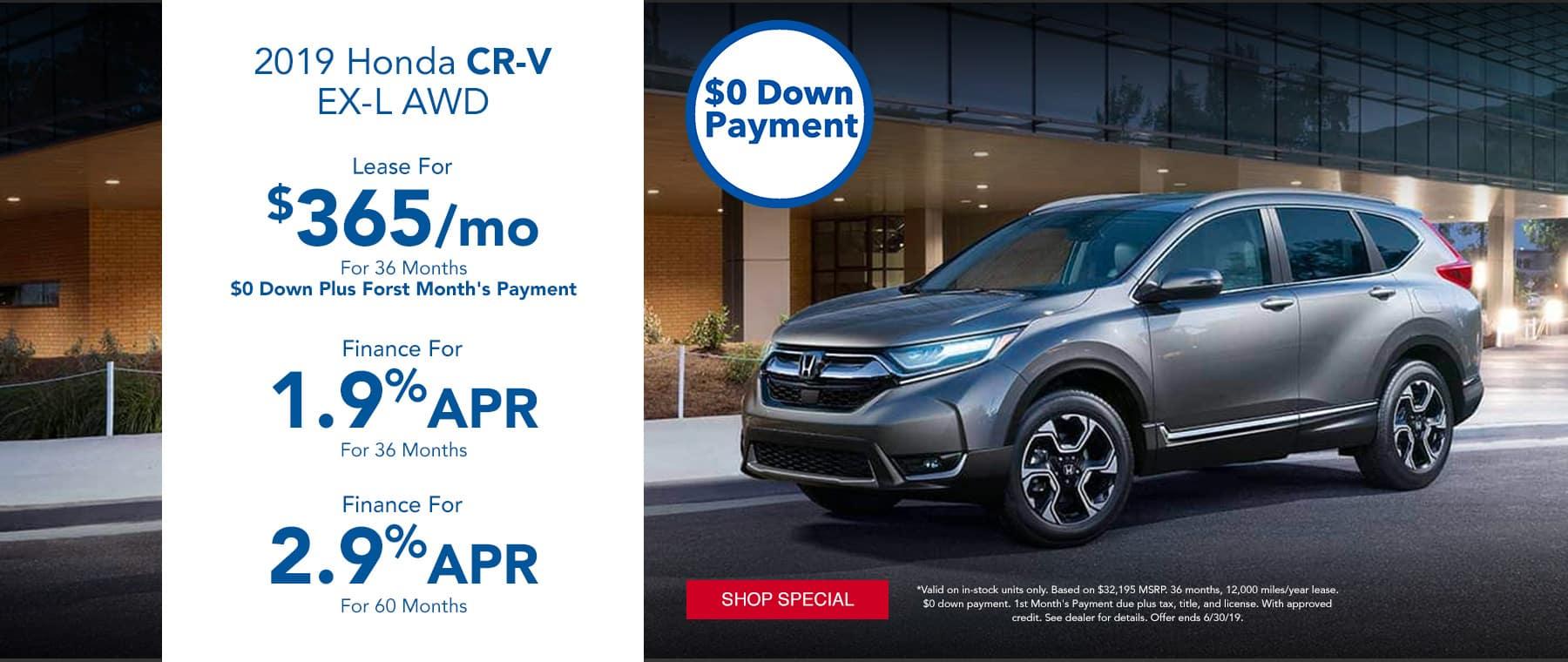 CR-V Special
