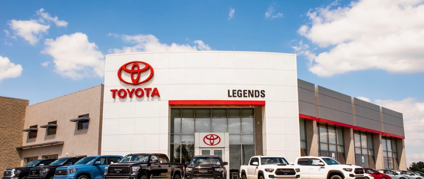 Updated Toyota Legends Homepage