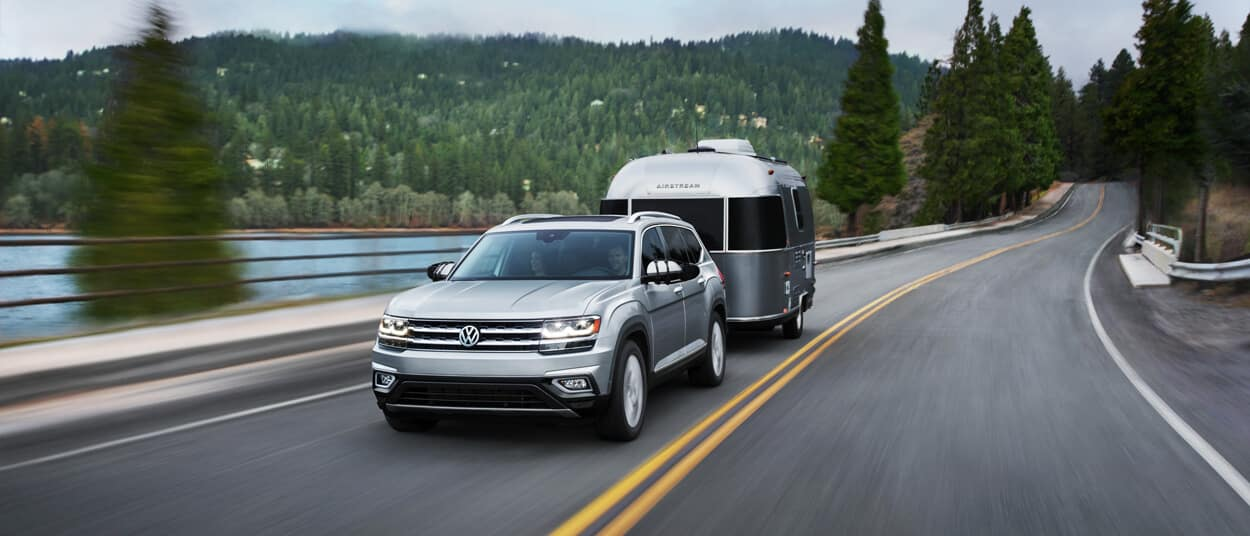 2018 Volkswagen Atlas towing