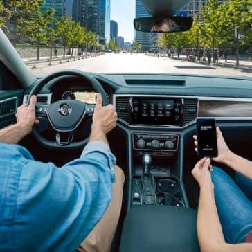 2019 Volkswagen Atlas Interior Front Dashboard Features