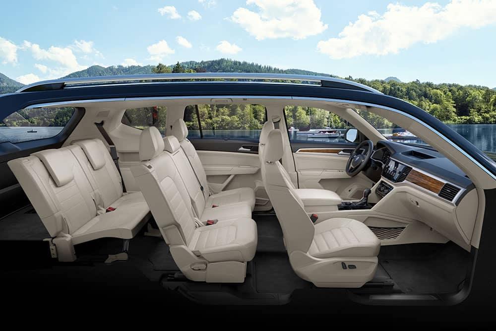 2019 Volkswagen Atlas Seating