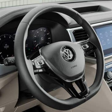 2019 Volkswagen Atlas Steering Wheel