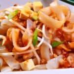 Tofu Pad Thai Vegetarian Dish