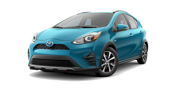 Toyota Prius C Teal