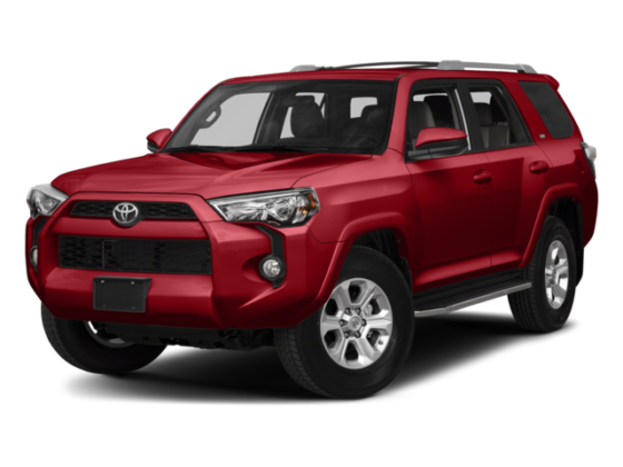 2018 Red Toyota 4Runner