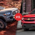 Comparison: 2018 Toyota Tacoma vs 2018 Chevrolet Colorado