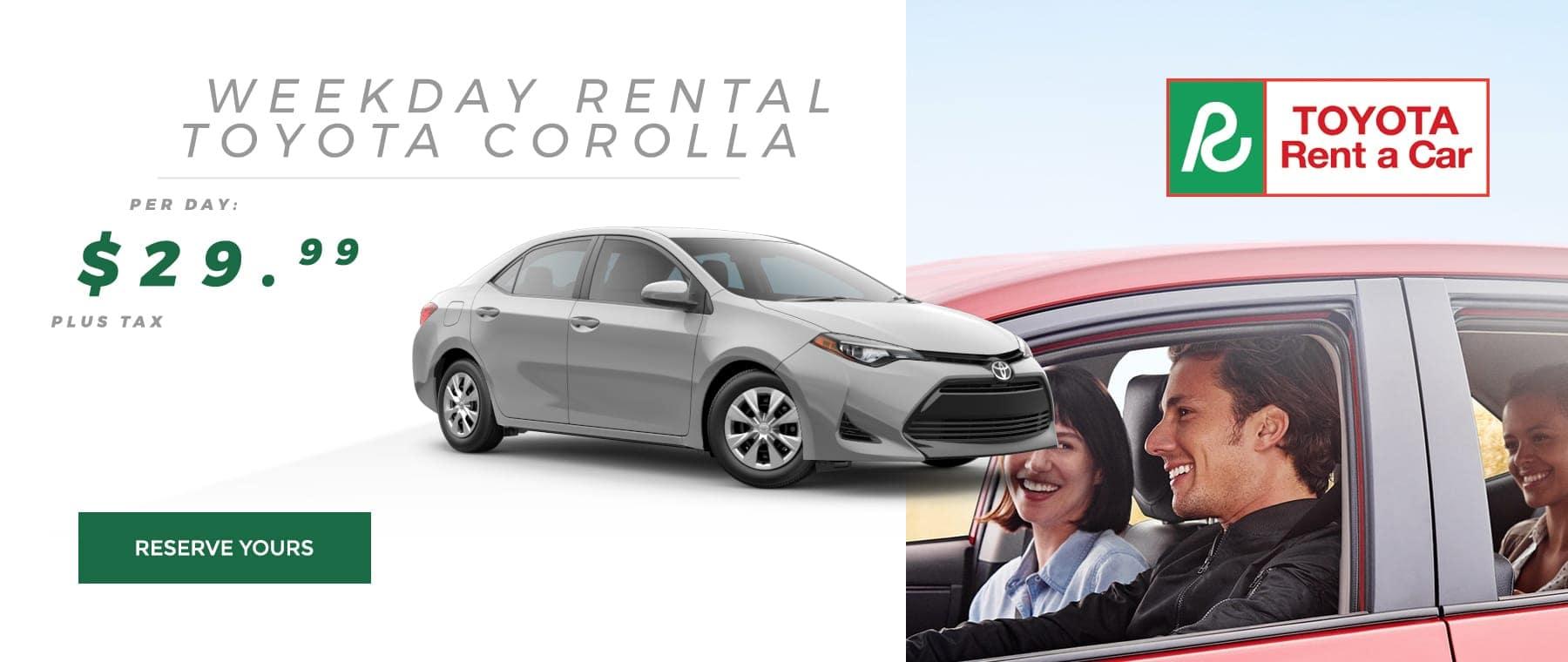 Rent A Corolla