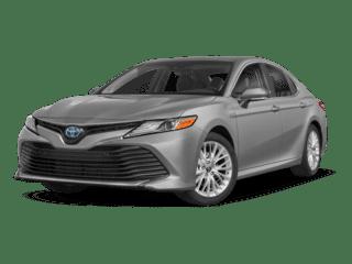 2018 Silver Toyota Camry Hybrid