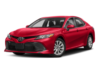 2018 Red Toyota Camry