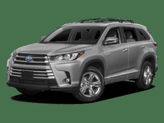 2018 Silver Toyota Highlander Hybrid