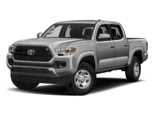 2018 Silver Toyota Tacoma