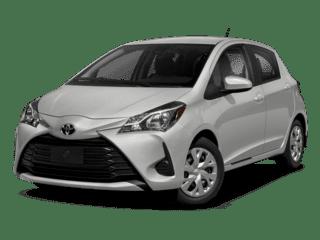 2018 Silver Toyota Yaris