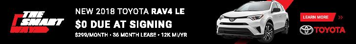 RAV4 Special Offers