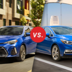 Comparison: 2018 Toyota Corolla vs 2018 Chevrolet Cruze