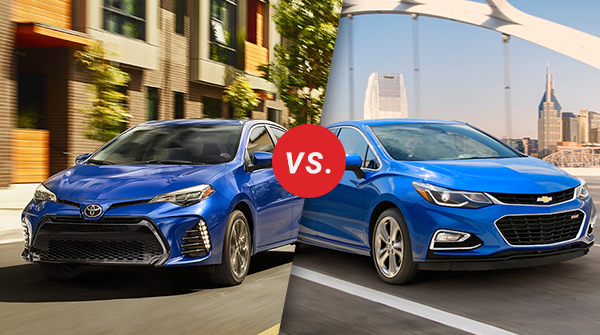 Comparison: 2018 Toyota Corolla vs 2018 Chevrolet Cruze ...