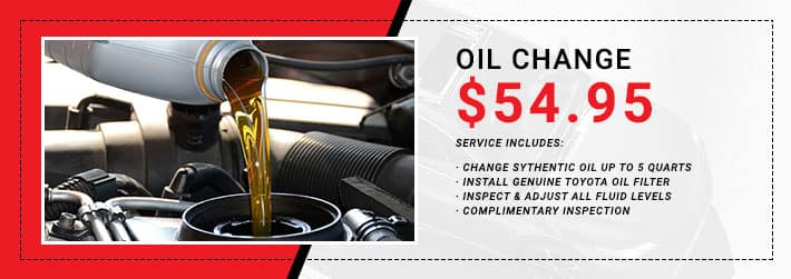 Toyota Oil Change Coupon >> Oil Change Longo Toyota Of Prosper