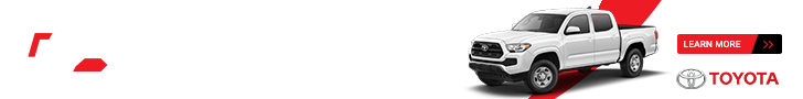 New 2018 Tacoma Special Offer