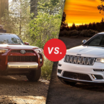 Comparison: 2018 Toyota 4Runner vs. 2018 Jeep Grand Cherokee