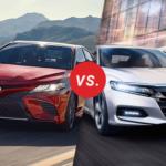 Comparison: 2018 Camry vs. 2018 Honda Accord