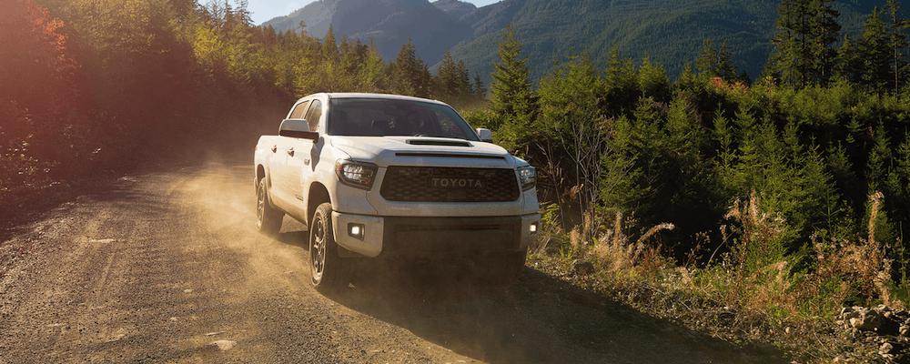 White 2020 Toyota Tundra Off-Road