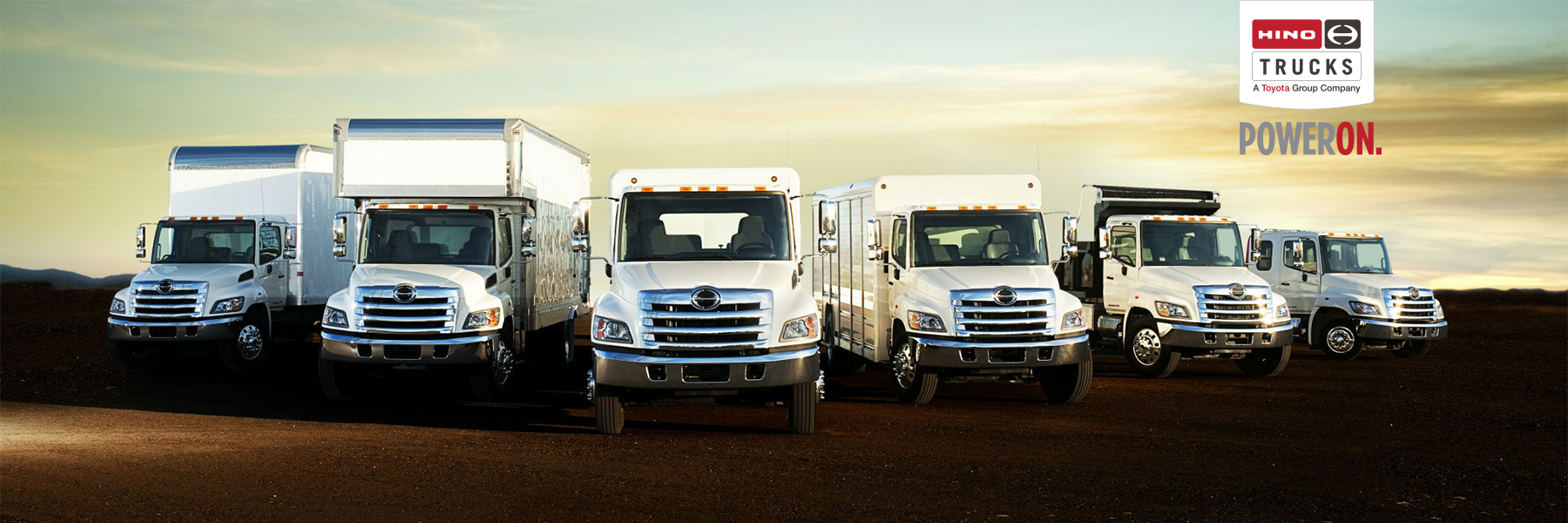 Hino Family of Commercial Trucks photo